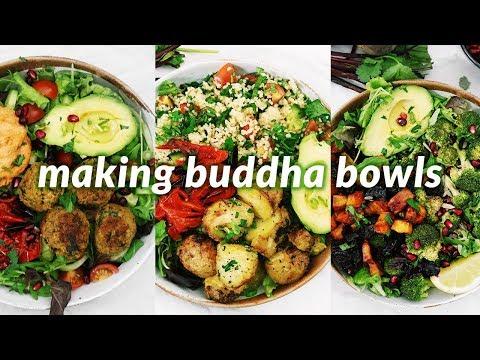 summer vegan buddha bowls | 7 easy vegan recipes