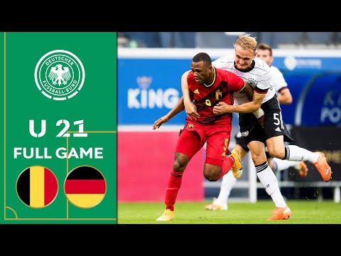 Belgium vs. Germany 4-1 |  Game | U21 Euro Qualifiers