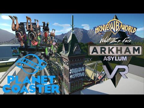 Planet Coaster - Arkham Asylum |