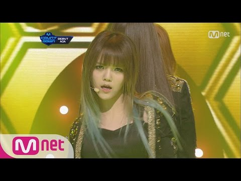 [STAR ZOOM IN] AOA - Elvis [M COUNTDOWN Ep.301] 160122 EP.47