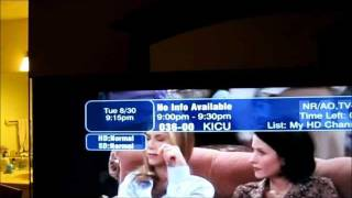 """How to fix Dish TV  Program Guide  """"NO INFO AVAILABLE"""" Issue"""