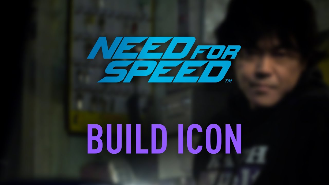 Need for Speed Icons - Nakai San - The build icon of the 2015 street racing game, Need for Speed.