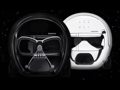 Samsung Star Wars Darth Vader Robot Vacuum Youtube