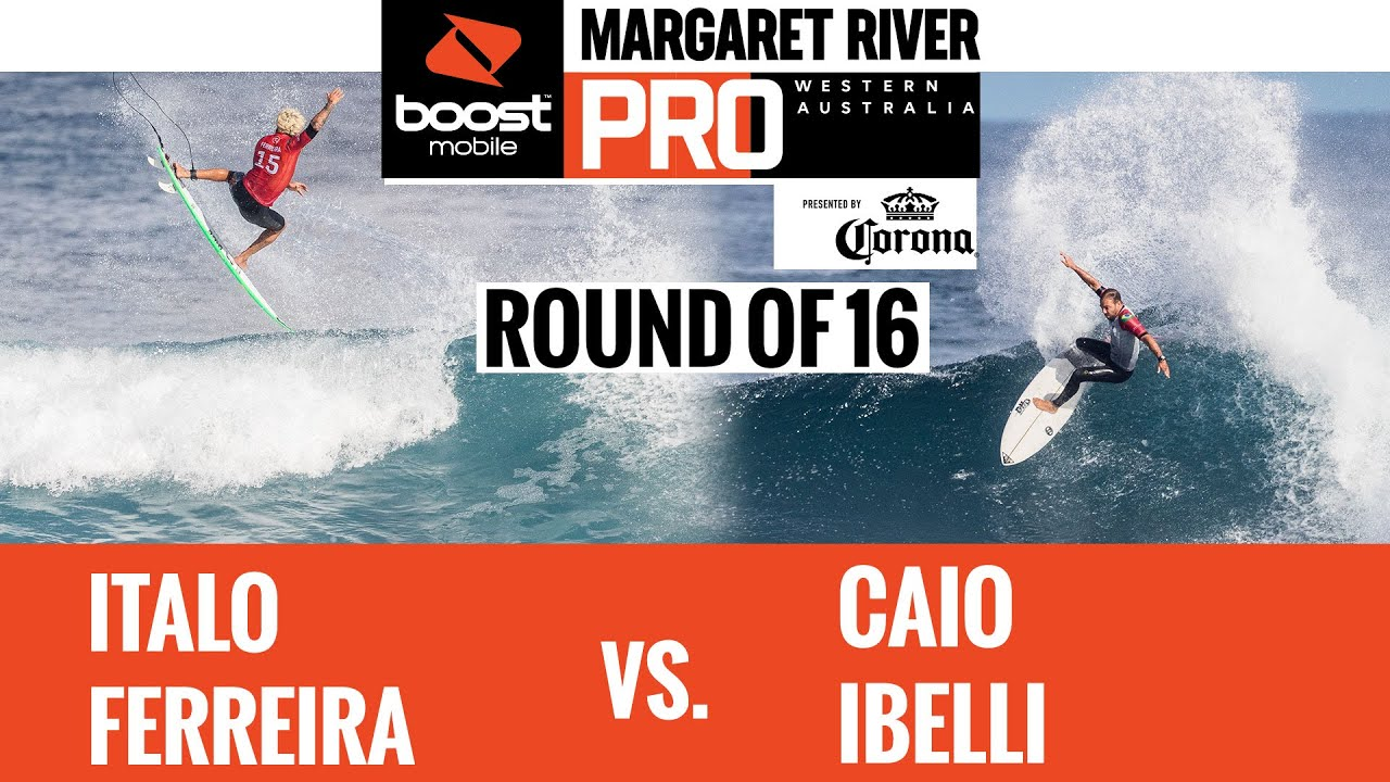 Italo Ferreira vs. Caio Ibelli HEAT REPLAY Boost Mobile Margaret River Pro presented by Corona