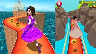 Princess Run 3D Endless Running Game Full Android Gameplay screenshot 2