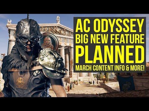 Assassin's Creed Odyssey DLC - March Content Info, Big Feature, No Legacy Content (AC Odyssey DLC) thumbnail