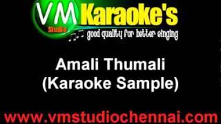 Amali Thumali Tamil Karaoke Ko