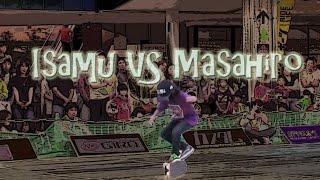 藤井 雅博 VS 山本 勇 プロ 決勝戦 2015 全日本フリースタイル スケートボード コンテスト