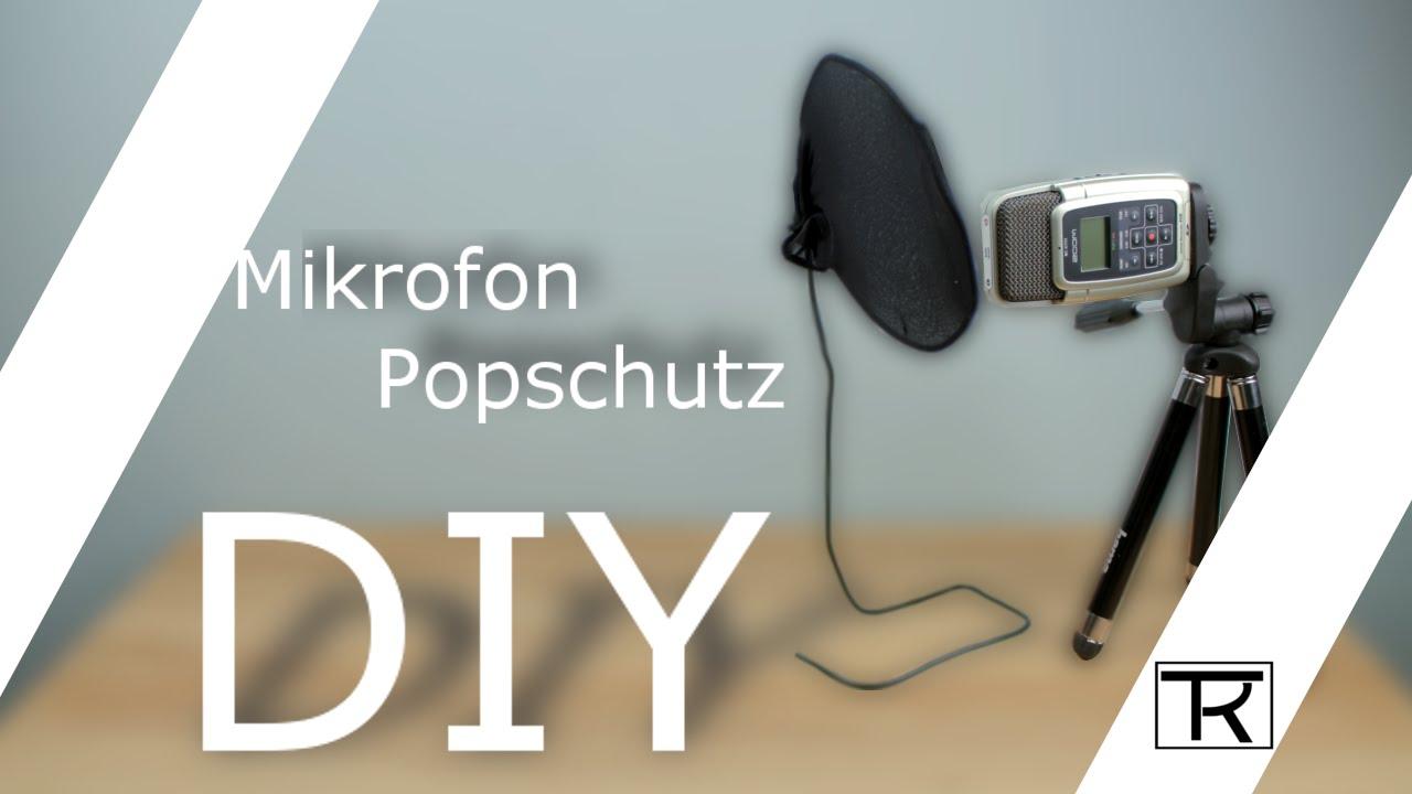 Diy Mikrofon Popschutz Selber Bauen 21 Youtube