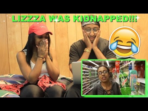 "Thumbnail: Couple Reacts : ""I WAS KIDNAPPED?! HELGA TAKEOVER!"" By Liza Koshy Reaction!!!"
