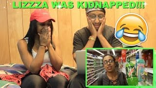 """Couple reacts : """"i was kidnapped?! helga takeover!"""" by liza koshy reaction!!!"""