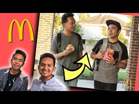 We Became McDonalds Poster Models