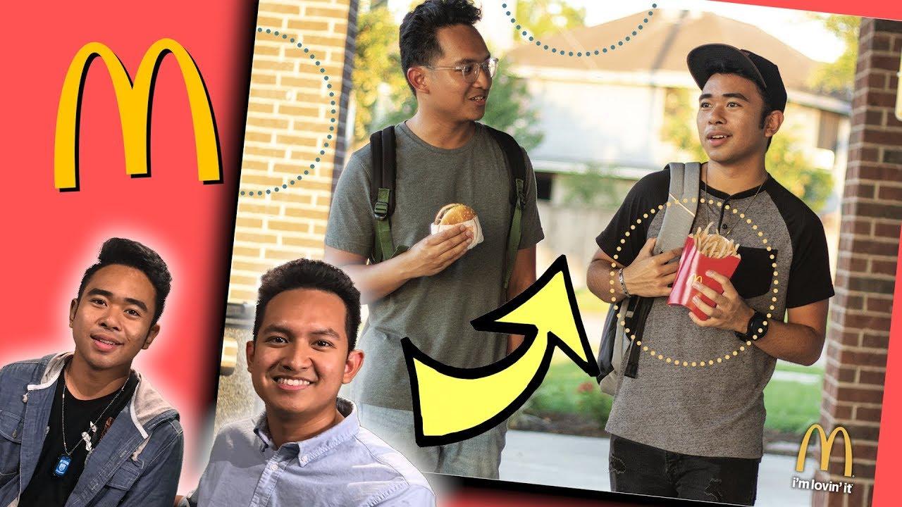 Weiße Jungs von asiatisch Die Verlockung, die sich aus der Kuala lumpur handelt