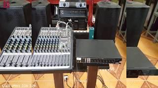 Siso VS360 kết hợp với bàn Mixer ( FB,Zalo 0981 228 229)