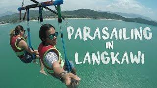 Travel Malaysia: Parasailing in Langkawi (ep 13)