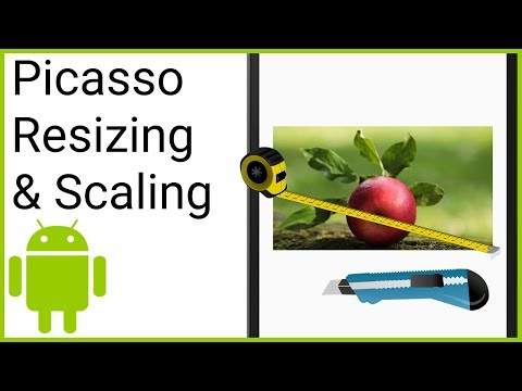 Picasso Resizing & Scaling - Android Studio Tutorial