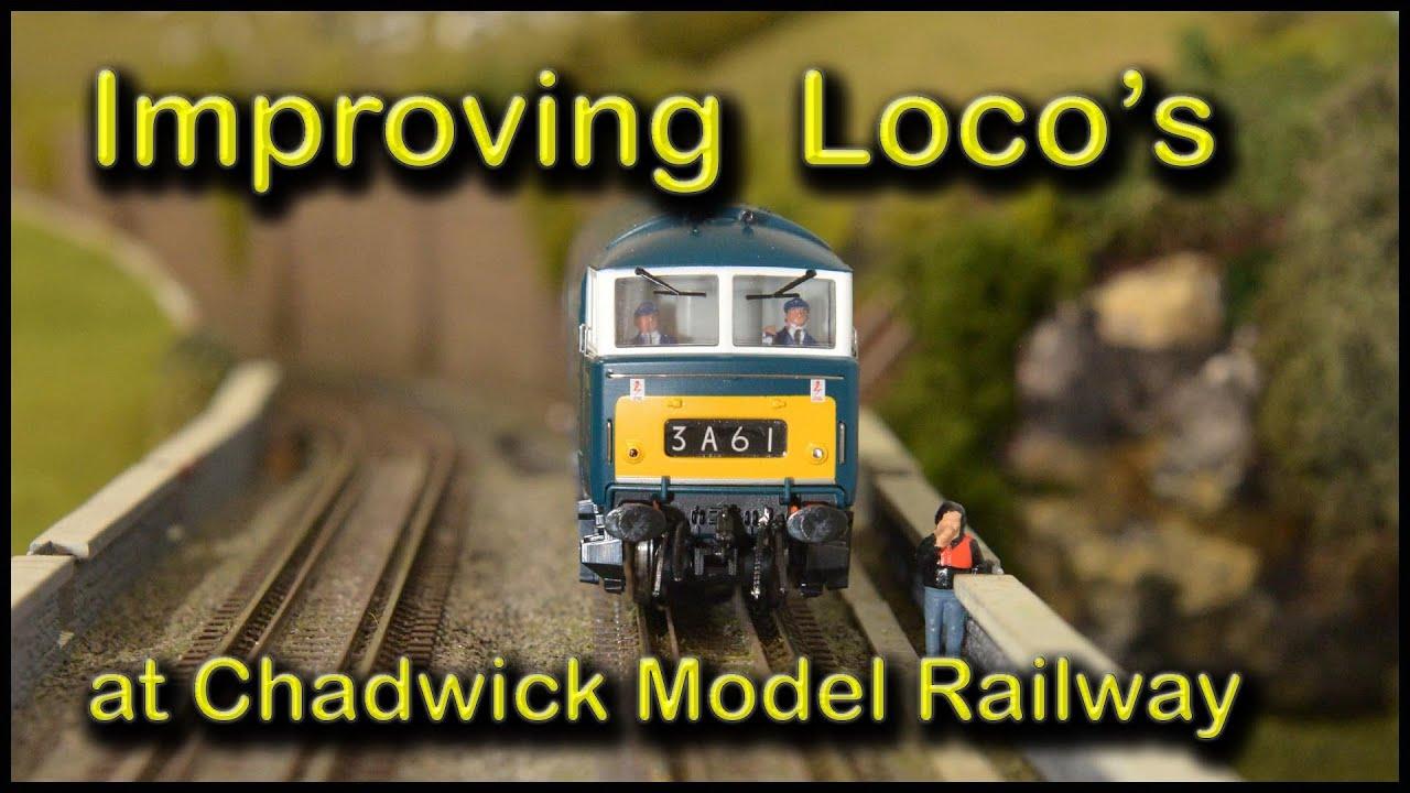 Fitting Loco Crew at Chadwick Model Railway | 130.