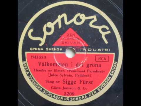 Välkommen i det gröna, Hambo - Gösta Jonsson; Sigge Fürst 1936