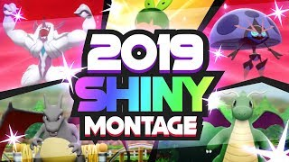 2019 EPIC SHINY MONTAGE! Pokemon Sword and Shield Shiny Reactions!