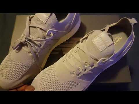 New balance 247 decon grey on feet