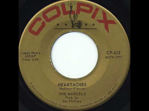 MARCELS  - Heartaches / My Love For You - ColpIx 606612 - 1961