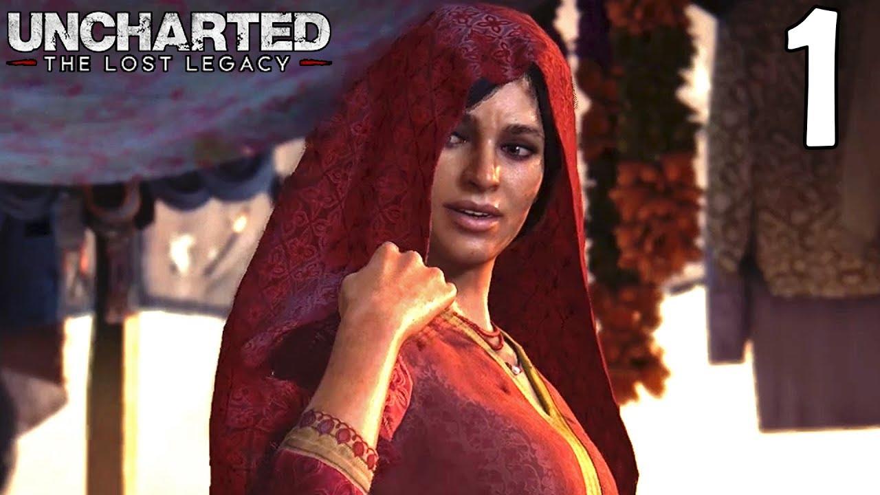 Uncharted The Lost Legacy Walkthrough Part 1 Chloe Frazer