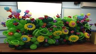 A Garden made of Balloons | BALLOON ART
