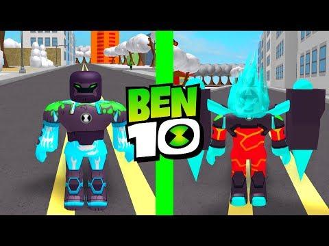 NEW Ben 10 Aliens Shock Rock and Omni Enhanced Heatblast Roblox Ben 10 Fighting Game