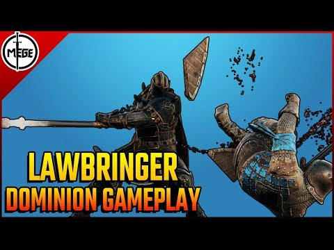 DOMINION Lawbringer Gameplay [For Honor]