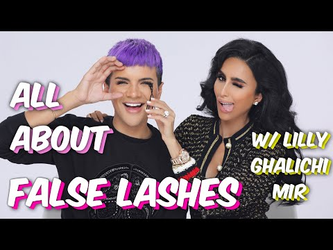 FALSE LASHES DO'S & DON'TS w/ LILLY GHALICHI MIR | Gabriel Zamora