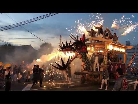 大牟田大蛇山集合 令和元年 2019 Dragon Festival