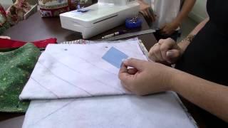 Bolsa porta panetone Patchwork por Maura Castro