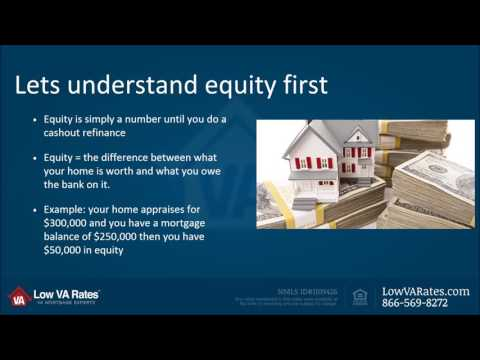 VA Cash Out Refinance 100 LTV