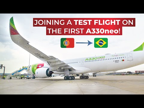 VLOG | FIRST ON YOUTUBE: Flying On The Airbus A330-900neo Of TAP Air Portugal