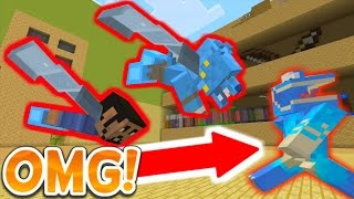 THE GREATEST GRAND ESCAPE IN MINECRAFT HIDE AND SEEK!!