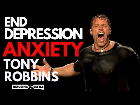 How Tony Robbins STOPS Depression & Anxiety In 60 Seconds