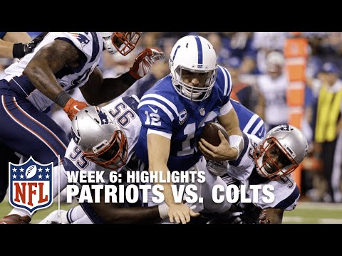 Patriots vs. Colts | Week 6 Highlights | NFL
