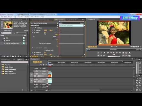Tạo hiệu ứng 3D cho video bằng Adobe Premiere CS4