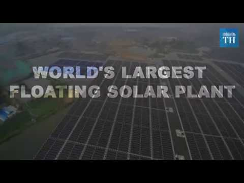 Worlds largest Floating solar plant