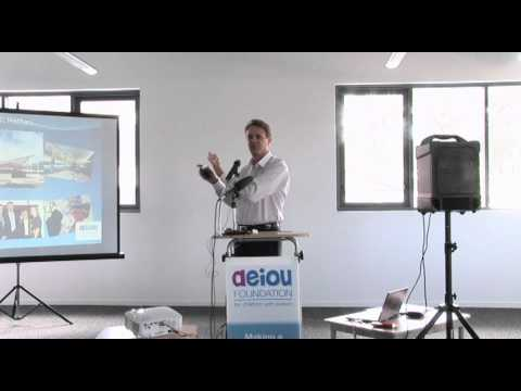 2010 AEIOU Parents Conference - James Morton speaks - part  2