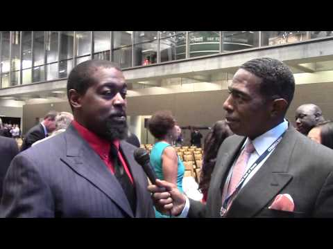 CFB Hall of Fame Ceremony 2014-Ron Dayne