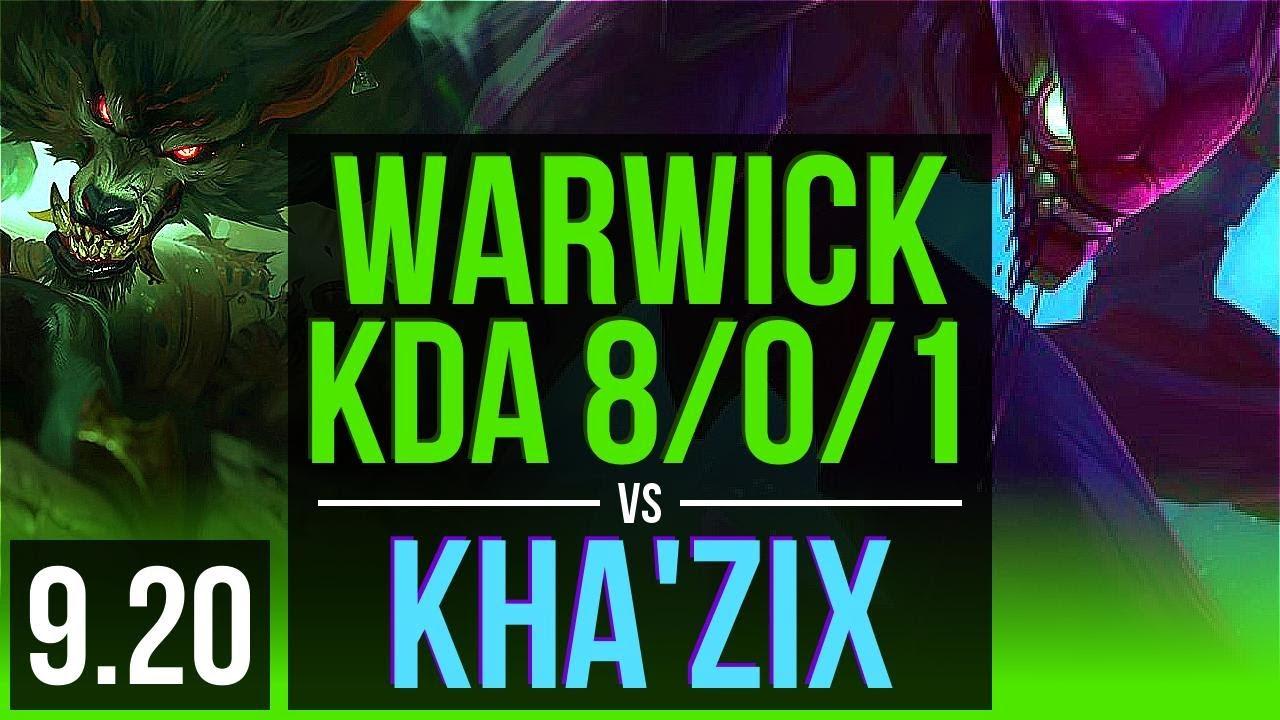 Warwick Vs Kha Zix