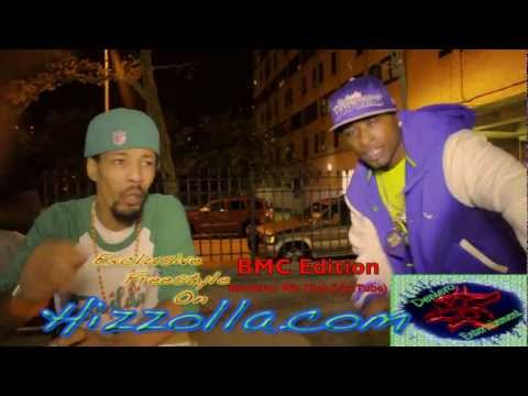 New Underground Rappers In Ny Interviews & Freestyles BMC Hizzolla Exclusive Live In The Hood