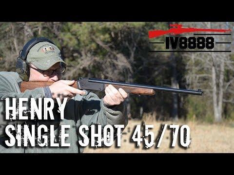 Henry Single Shot 45/70 | Bolivia LEISURE LV