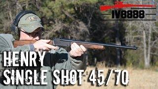 Henry Single Shot 45/70