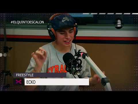 ECKO - SE MANDA UN FREESTYLAZO - El Quinto Escalon Radio (17/10/17)