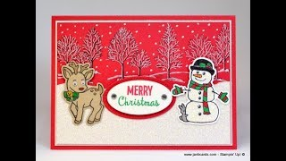 No.426 - Snowman Card (2 of 3 videos) UK Stampin' Up! Independent Demonstrator