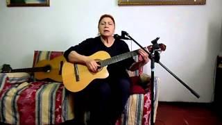 Canción al Salto del Laja, Autora e interprete Cecilia León