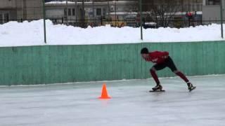 Блиц-обучение катанию на коньках