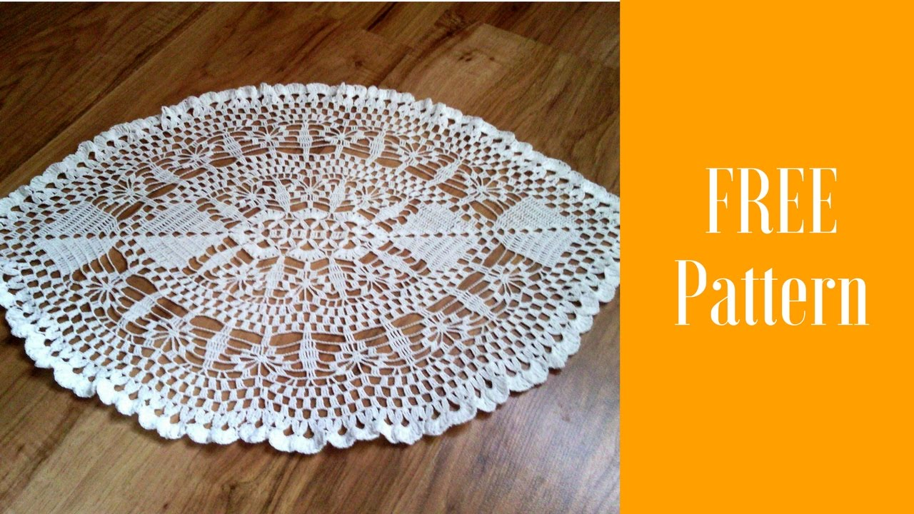 Oval crochet doily patternhow to crochet oval doilysimple oval crochet doily patternhow to crochet oval doilysimple crochet doily easy crochet doily bankloansurffo Gallery
